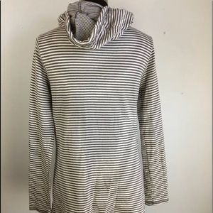 Horny Toad  Womens Profundo Pullover Top XL Cowl